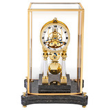 """L'Amour"" 100-Day Table Clock"