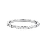 Round Brilliant Diamond Eternity Band Ring (~0.5 ct tw)