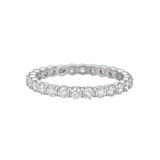 Round Brilliant Diamond Eternity Band (~1 ct tw)