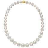 ​​South Sea Pearl Necklace with 18k Gold Clasp