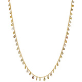 Multicolored Diamond Fringe Chain Necklace (5.72 ct tw)
