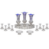 Silver 14-Piece Table Garniture, Circa 1900