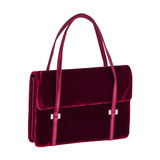 Small Red Velvet Handbag