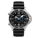 Luminor Submersible 1950 Chrono Flyback Titanium (PAM00615)