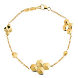 "18k Yellow Gold ""Brillante"" Chain Bracelet"