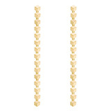 "18k Gold ""Brillante Sexy"" Drop Earrings"