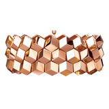 "18k Rose Gold ""Brillante"" 3-Row Bracelet"