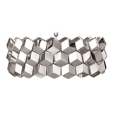 "18k White Gold ""Brillante"" 3-Row Bracelet"