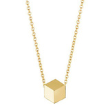 "​18k Yellow Gold ""Brillante"" Pendant"