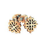18k Rose Gold Calatrava Cross Cufflinks