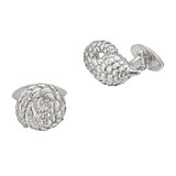 Silver Pangolin Cufflinks