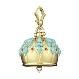 "Extra Large ""Cathedral"" 18k Gold & Gemstone Meditation Bell"