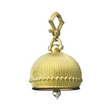 Extra Large 18k Gold Meditation Bell