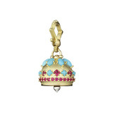 Medium Gem-Set Meditation Bell Pendant