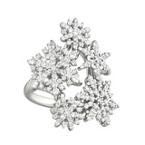 "Diamond ""Snowfall"" Ring"