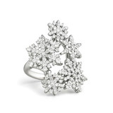 &quot;Snowfall&quot; Diamond Ring