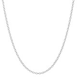 Platinum Chain Necklace (16&quot;)