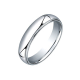 ​Platinum Milgrain Wedding Band (5mm)