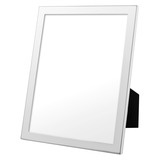 "Polished Silver Picture Frame (8 x 10"")"
