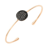 "​Black Diamond ""Sabbia"" Bangle Bracelet"