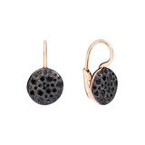 "Black Diamond ""Sabbia"" Drop Earrings"