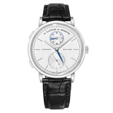 ​Saxonia Dual Time White Gold (385.026)
