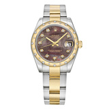 Datejust 31 Steel, Yellow Gold & Diamonds (178343)