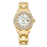 ​Lady-Datejust Pearlmaster Yellow Gold & Diamonds (80298)