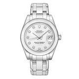 Pearlmaster 34 White Gold (81209)