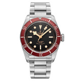 Heritage Black Bay Red Steel (79220R)