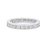 Princess-Cut Diamond Eternity Band (2.40 ct tw)