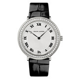 Slim Classique Manual White Gold & Diamonds (RLR0122703)