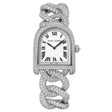 Stirrup Small Manual White Gold & Diamonds (RLR0012200)