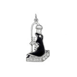 """Seal in the Shower"" Diamond Charm"