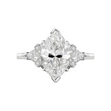 2.48 Carat Marquise Brilliant-Cut Diamond Ring