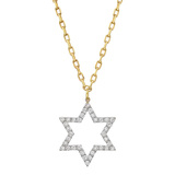 Diamond Star Pendant Necklace