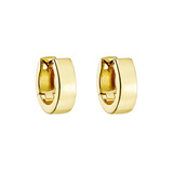 ​18k Yellow Gold Huggie Earrings