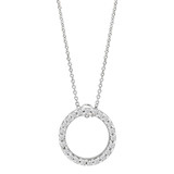 &quot;Tiny Treasures&quot; Diamond Circle Pendant