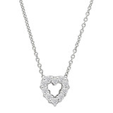 """Tiny Treasures"" Diamond Heart Pendant"