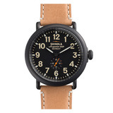 ​Runwell 47mm PVD Black Steel (S0100011)