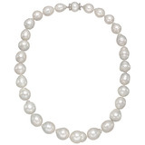 Graduated Baroque Cultured Pearl Necklace
