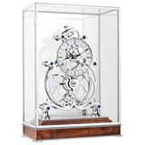 Great Wheel Condliffe Skeleton Table Clock