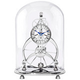 """Isabel"" Great Wheel Skeleton Table Clock"