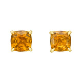 Spessartite Garnet Stud Earrings