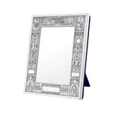 "Silver Birth Record Frame (3.5 x 4.5"")"