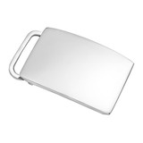 Silver Slide Belt Buckle