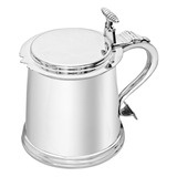 Charles II-Style Silver Tankard