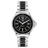 Ladies' Formula 1 Quartz Black Ceramic & Diamonds (WAH1212.BA0859)