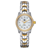 Ladies&#039; Link Quartz Two Tone &amp; Diamonds (WJF1354.BB0581)