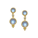 ​Moonstone Double Drop Earrings